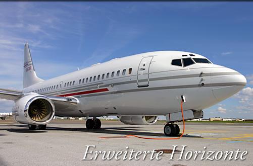 Verkehrsflugzeuge für Firmen