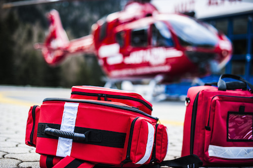 Rücktransport mit Ambulanzjets