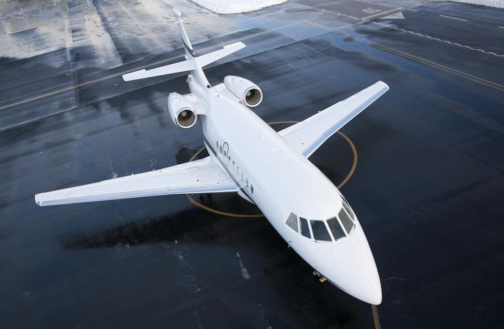 Coronavirus private jet